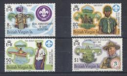 British Virgin Islands - 1982 Scouts MNH__(TH-5286) - British Virgin Islands