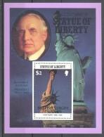 British Virgin Islands - 1986 Statue Of Liberty 2$ Block MNH__(TH-11927) - British Virgin Islands