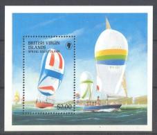 British Virgin Islands - 1989 Spring Regatta Block MNH__(TH-12233) - British Virgin Islands