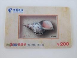 China Prepaid Phonecard, Shell,used - Chine