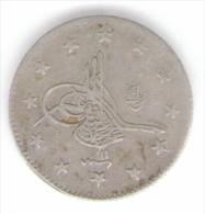 TURCHIA 2 KURUSH 1293 AG SILVER - Turchia