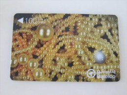 GPT Magnetic Phonecard,49BAHN Pearls 3,used - Gabon