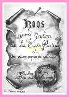 CPM DE BOOS    5eme Salon De La Carte Postale Et Du Vieux Papier De Collection Novembre 1987 - Francia