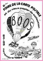 CPM DE BOOS    2eme Salon De La Carte Postale Et Du Vieux Papier De Collection Novembre 1984 - Francia