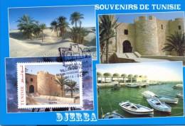 Tunisia/Tunisie 2014  - Maxi-Card - Cities Of  Tunisia - Jerba - Tunisia