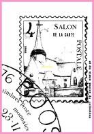 CPM DE BOOS    4eme Salon De La Carte Postale Et Du Vieux Papier De Collection Novembre 1984 - Francia