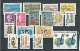 Rép. Dominicaine: 1 Lot ** (voir Détail) - Dominicaine (République)