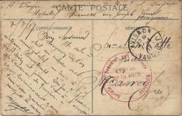 HOPITAL ANNEXE AVIGNON - Storia Postale