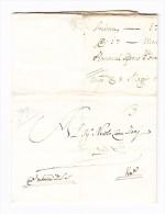 Vorphila-Brief 1719 Von Smyrna Nach Venedig Ex. Orhan Brandt Sammlung - Turkey