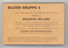 Cigaretten-Bilderdienst / Moderne Malerei  / Bilder-Gruppe 6 Werk 2 / 50 Bilder Kpl. In Originalverpackung, Ungeöffnet - Cigarettes