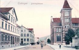 TUTTLINGEN Bahnhof Strasse Belebt Color Verlag Reinicke & Rubin 1908 Ungelaufen - Tuttlingen