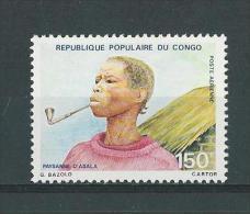 Rép. Du Congo: PA  248 **  Fumeuse De Pipe - Tabac