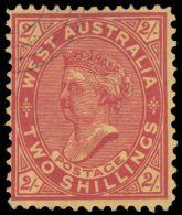 Western Australia 1902-12 2sh Brown-red On Yellow Fine Used. - Gebraucht