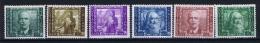 Italy: 1938 Sa A111 - A 116 , Mi 614 - 619, MNH/** - 1900-44 Vittorio Emanuele III