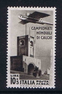 Italy: 1934 Sa A72 , Mi 487, MNH/** - 1900-44 Vittorio Emanuele III