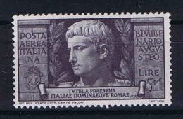 Italy: 1937 Sa A110   , Mi 590, MNH/** - 1900-44 Vittorio Emanuele III