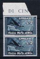 Italy:  1933  SA Ae 44, Mi Nr 435 MNH/** Sheetmargin - 1900-44 Vittorio Emanuele III