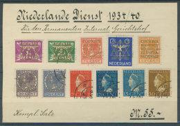 Niederlande Dienst Michel No. 9 - 19 gestempelt used