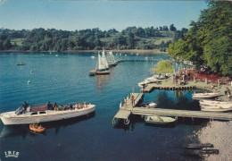 Cp , 65 , LOURDES , Le Lac , Embarcadère , Départ Pour Le Tour Du Lac En Vedette - Lourdes