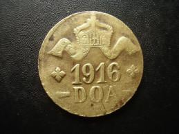 DOA  1916 EMERGENCY TABORA COINS 20 HELLER BRASS TYPE  ´A-A´. - German East Africa