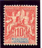 Nlle CALEDONIE - N° 60* - TYPE GROUPE - Neufs