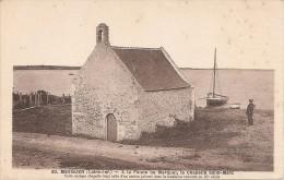 44 MESQUER  Pointe De Merquel Chapelle Saint Marc - Mesquer Quimiac