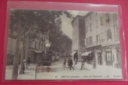 Cp Privas Cours De L'esplanade - Privas