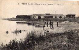 TOURS CHAMP DE TIR DU MENNETON SOLDATS - Tours
