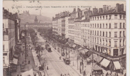 15 - Lyon - Perspective Du Cours Gambetta Et Le Coteau De Fourvière . - Lyon