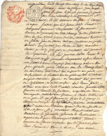 Manuscrit  8 Nivose An 5 - 2 Pages - échange St André Embrun Hautes Alpes - Manuscrits