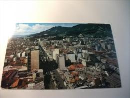 STORIA POSTALE TIMBRO ROSSO COLOMBIA Bogota Panoràmica De La Ciudad Carrera 10a - Colombia