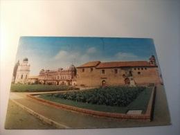 STORIA POSTALE TIMBRO ROSSO COLOMBIA Bogota Iglesia De Santa Clara Y Observatorio Nacional - Colombia