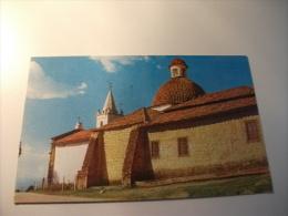STORIA POSTALE TIMBRO ROSSO COLOMBIA Bogota Santuario De Nuestra Senora De La Pena - Colombia