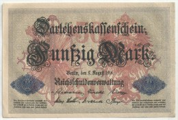 50 MARK 1914 - Nr 5167766 - [ 2] 1871-1918 : Empire Allemand