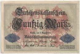 50 MARK 1914 - Nr 5167764 - 50 Mark