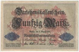 50 MARK 1914 - Nr 5167761 - [ 2] 1871-1918 : Empire Allemand