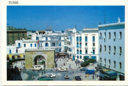 Tunisia/Tunisie - Postcard - Porte De France - Tunisia