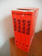 Lexikon der sprichw�rtlichen Redensarten (Lutz R�hrich) �ditions Herder de  1973. Band 1-2-3-4