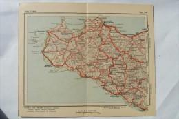 CARTOLINA Di PALERMO CARTINA GEOGRAFICA   A7955 - Palermo