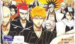 Télécarte Japon * MANGA * BLEACH (13.511)  Japan ANIME CINEMA * TELEFONKARTE * MOVIE Phonecard - Film
