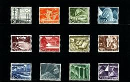 SWITZERLAND/SWEIZ - 1949  DEFINITIVE  SET   MINT NH - Neufs