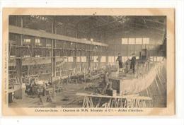 Chalon Sur Saone - Chantier Schneider - Atelier D'artillerie - Chalon Sur Saone