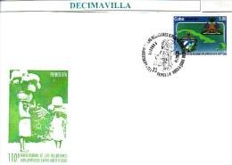 CUBA, 2014, 110 ANIV. RELACIONES DIPLOMATICAS HAITI - CUBA, SPD. FDC - FDC
