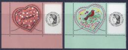 3747A - 3748A Cacharel 0.53  + 0.82 Personnalisé Cérès Neuf** - Personalized Stamps