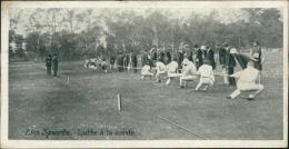 SPORT / Les Sports - Lutte à La Corde (carte Taille Originale) - Lutte