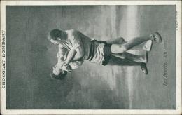 SPORT / Les Sports - Jiu - Jitsu (PUB CHOCOLAT LOMBART) - Lutte