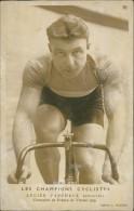 CYCLISME / Les Champions Cyclistes LUCIEN FAUCHEUX (Sprinter) Champion De France De Vitesse 1929 - Photo Picoche - Cyclisme