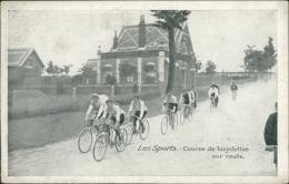 CYCLISME/ Les Sports - Course De Bicyclettes Sur Route (PUB Chicorée Emile Bonzel) - Cyclisme