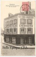 51 - EPERNAY - Magasins Des Trois Quartiers - Maison H. COLSENET +++ Poyet, Phot. +++ RARE +++ Vers Paris, 1906 - Epernay