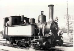 Foto LOKOMOTIVE Dampflok Fotoformat Ca.14,8 X 10,3 Cm - Eisenbahnen
